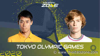 Men's Olympic Tennis First Round – Kei Nishikori vs Andrey Rublev Preview & Prediction - The Stats Zone