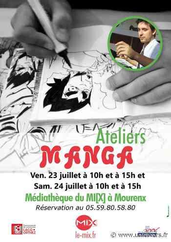 Atelier manga Mourenx vendredi 23 juillet 2021 - Unidivers