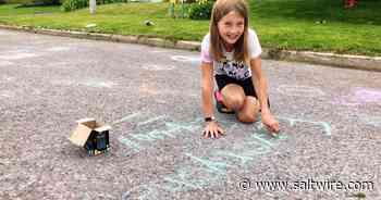 Chalk positivity: Sydney River children's summer fun inspired by school activities   Saltwire - SaltWire Network