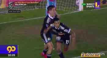 Con golazo de 'Canchita' Gonzales: Sporting Cristal avanzó a cuartos de la Copa Sudamericana - Diario Depor