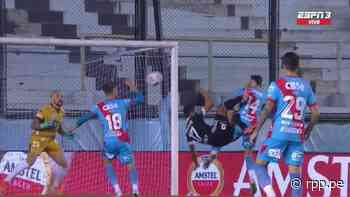GOL-LA-ZO de Sporting Cristal: Christofer Gonzales anotó de chalaca ante Arsenal - RPP Noticias