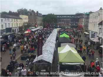 Visitors encouraged to get Covid tests at Warwick Food Festival - Kenilworth Weekly News