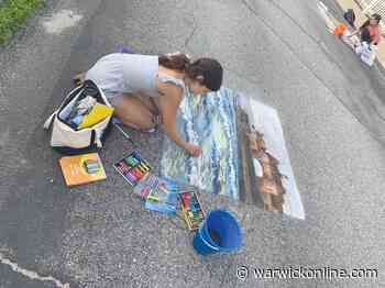 Sophia Hopkins chalks up a first in EG Chamber art contest - Warwick Beacon