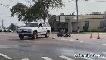 Motorcyclist seriously injured in crash in Warwick - WJAR