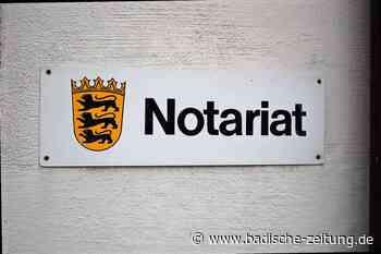 Das Warten auf die Notarstelle geht weiter - Ettenheim - Badische Zeitung - Badische Zeitung