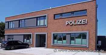 Kosten für Polizeiposten werden höher - Ettenheim - Badische Zeitung - Badische Zeitung