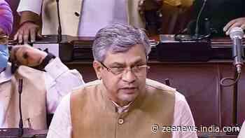 Trinamool Congress member tears I-T Minister`s Snoopgate statement in Rajya Sabha