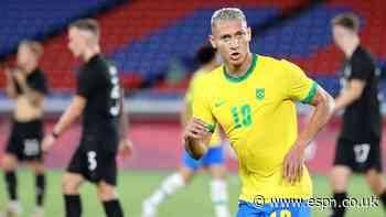 Richarlison hits hat trick as Brazil beat Germany