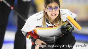 Curling-Frauen bei Kapps WM-Premiere nur Zwölfte - Augsburger Allgemeine