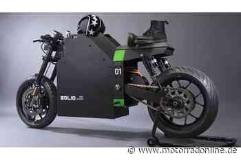 Solid CRS 01: EX-NXT Macher mit Elektro-Motorrad - MOTORRAD