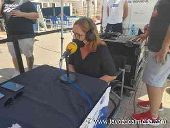 La playa de San José se convierte en el nuevo escenario de La SER - La Voz de Almería