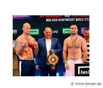 Heute Abend: Michael Wallisch vs Murat Gassiev - Boxen.de