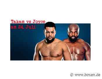Takam vs Joyce am 24. Juli - Boxen.de