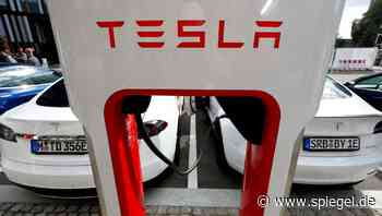 Elektroautos: Tesla will Ladestationen für Konkurrenz öffnen - DER SPIEGEL