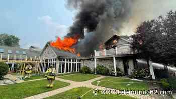 Seis miembros de una misma familia heridos en incendio residencial - Telemundo 62