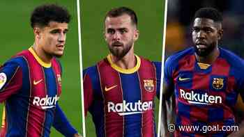 Barcelona still struggling to offload Coutinho, Pjanic and Umtiti amid wage crisis