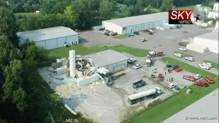 Ten injured in explosion at Kentucky Dippin' Dots production facility