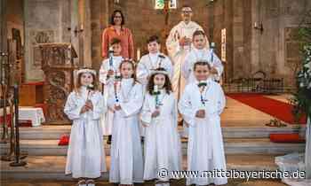 Erstkommunion in Biburg gefeiert - Region Kelheim - Nachrichten - Mittelbayerische