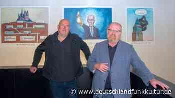 """Greser & Lenz-Schau in Frankfurt am Main - """"Wir haben uns nie verbogen"""" - Deutschlandfunk Kultur"""