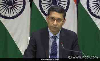 Urging Foreign Governments To Ease Travel Curbs For Indians: Centre - NDTV