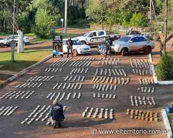 La droga incautada entre Garuhapé y Caraguatay pesó más de 600 kilos - EL TERRITORIO