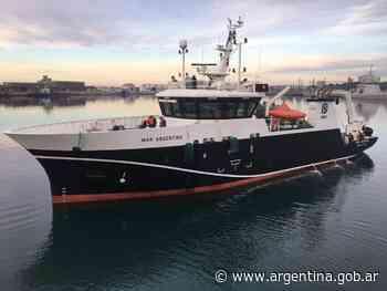 El BIP Mar Argentino prueba artes de pesca y equipamientos complementarios - Argentina.gob.ar Presidencia de la Nación