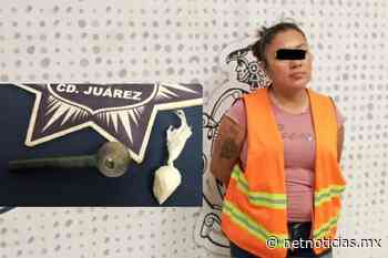 Detienen a mujer con cristal y pipa en Pradera de los Oasis - Netnoticias