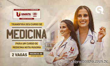Curso de Medicina UNINTA campus Itapipoca oferta 2 vagas para transferidos - Sobral Online