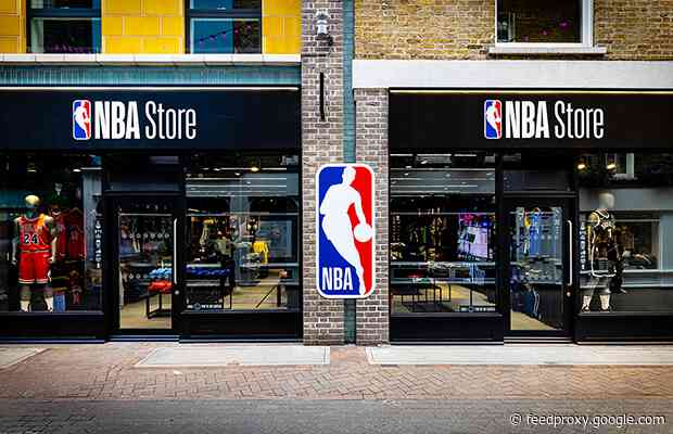 First official NBA store in UK opens in Carnaby, London