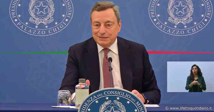 """Riforma Cartabia, Draghi: """"Ho chiesto la fiducia al Parlamento ma siamo aperti a miglioramenti tecnici"""""""