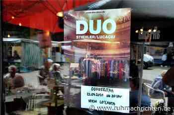 Sonst mit Clueso unterwegs: Das Duo Stiehler/Lucaciu spielt vor dem Lo'Canta - Ruhr Nachrichten
