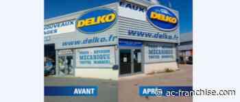 Le garage Delko Lunel se refait une beauté avec une nouvelle devanture - AC Franchise