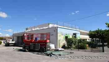 Lunel : importants travaux engagés à l'école Henri de Bornier - Hérault-Tribune