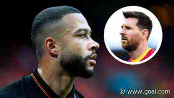 'Playing with Messi will be a dream for me' - Depay eager to link up with 'best player in the world' after Barca unvieling