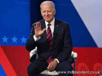 'They're lying': Biden hits back at Republicans for claiming he is anti-police