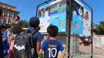 Poissy : les valeurs de l'olympisme s'exposent dans les quartiers - Le Parisien