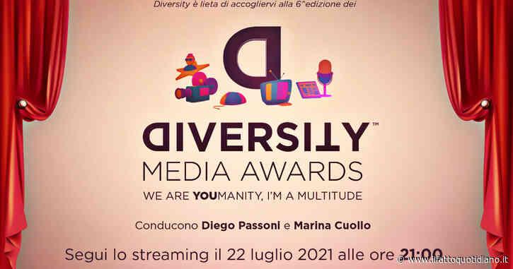 """Diversity Media Awards, la sesta edizione degli """"Oscar dell'inclusione"""" destinati a stampa e tv: la premiazione in diretta"""