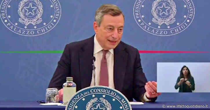 """""""L'appello a non vaccinarsi è l'appello a morire"""". Draghi gela Salvini: """"Senza protezione si deve chiudere tutto di nuovo"""" – Video"""