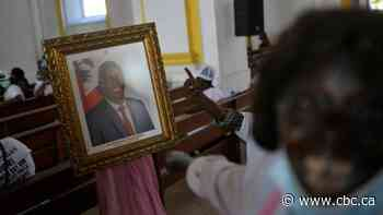 Mourners cry out for justice at memorial for slain Haitian President Jovenel Moïse