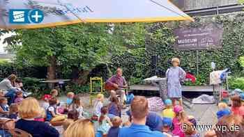 Im Briloner Museumsgarten tanzen die Puppen - Westfalenpost