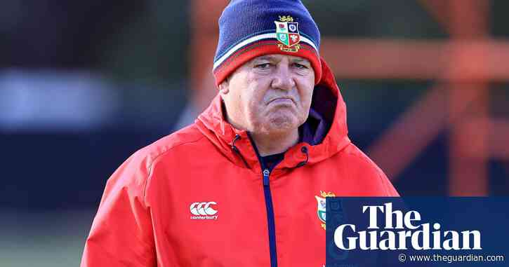 Gatland fury after South African Marius Jonker appointed Lions Test series TMO
