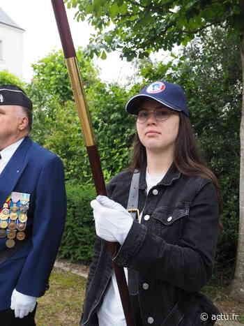 Laura, 17 ans porte l'honneur des combattants - L'Echo d'Ancenis