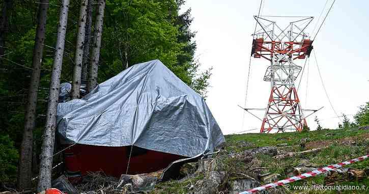 Funivia Stresa-Mottarone, via all'incidente probatorio: il primo sopralluogo il 3 agosto. A metà dicembre gli esiti della perizia