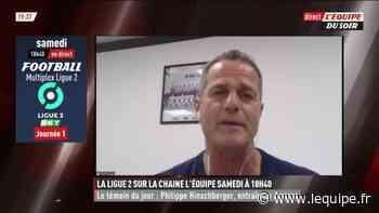 Philippe Hinschberger : « Amiens est un très beau club » - L'Équipe.fr