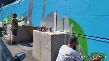 «Graff ta ville», venez découvrir le métier de graffeur à Amiens - Le Courrier picard