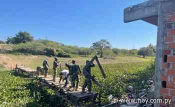 Destruyen puentes clandestinos en la zona de Nanawa - Hoy