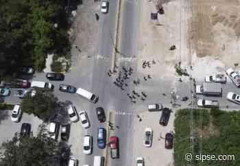 Manifestación en Tulum: Habitantes bloquean el tráfico hacia Playa del Carmen - sipse.com
