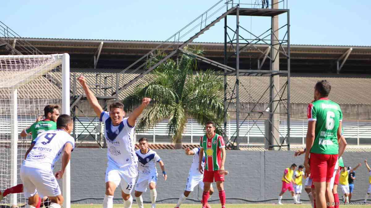 Sportivo Ameliano golea a Yegros y sigue con paso firme - D10 - Deportes Paraguay