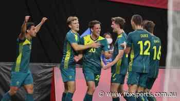ROO BEAUTY: Aussies 'shock the world' as Arnie 'masterclass' ambushes football powerhouse