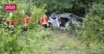 Auto überschlägt sich bei Verkehrsunfall in Bingen - Allgemeine Zeitung